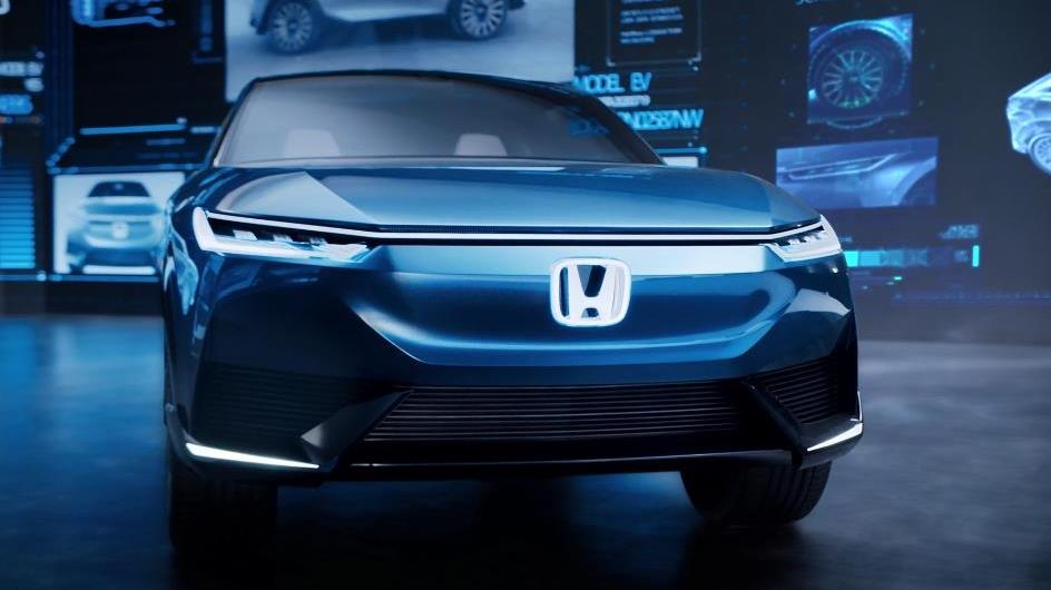 中国设计师主导 本田H-BEV概念车静态展示